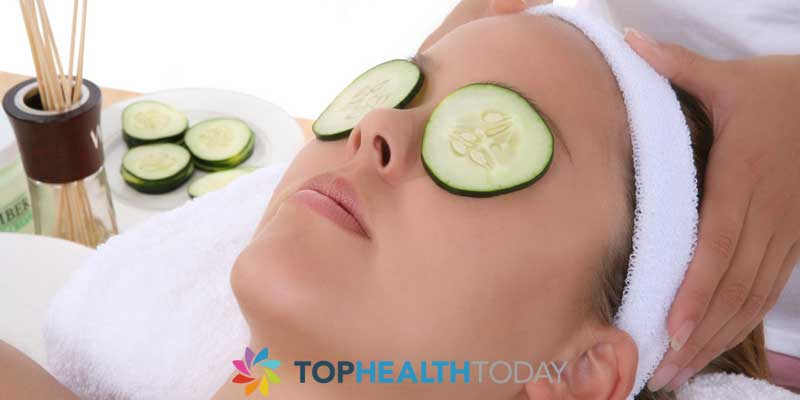 Cucumbers for Dark Circles around eyes