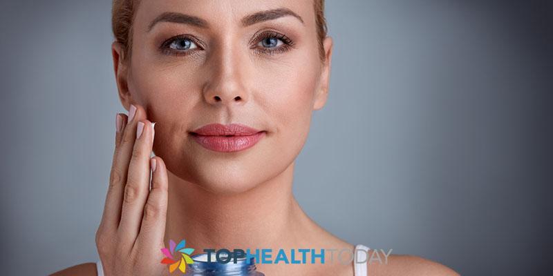 Anti-aging skin care routine