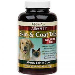 NaturVet® Aller-911® Skin & Coat Tabs