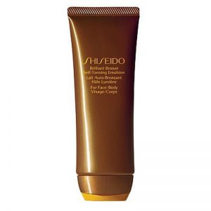 shiseido bronze quick self tanning gel- final