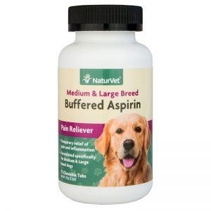 NaturVet® Buffered Aspirin Medium & Large Breed- final