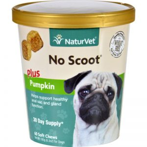 NaturVet® No Scoot® Soft Chew Plus Pumpkin- final
