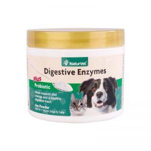 NaturVet Digestive Enzymes Powder- final