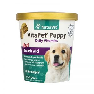 naturvet VitaPet puppy breath aid - final