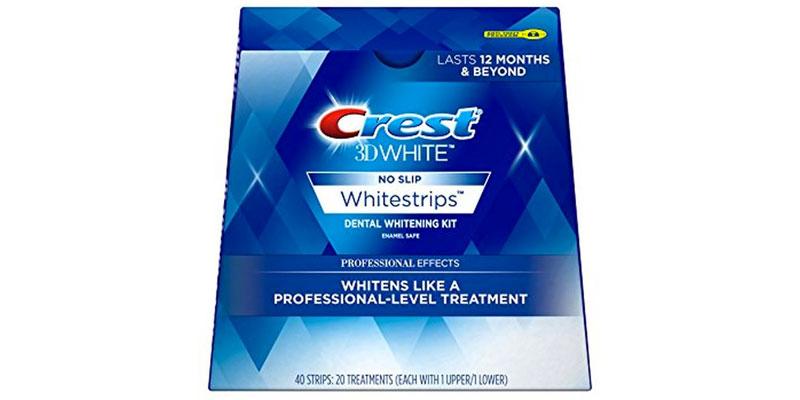 colgate 3d white strips review